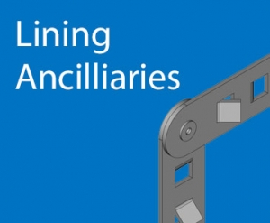 Lining ancilliaries for refractories